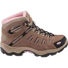 womens boots hiking hi tec s bandera waterproof mid hiking boots academy