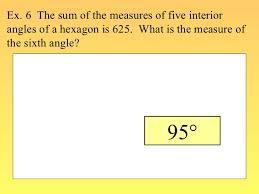 What Is The Interior Angle Of A Regular Decagon Find Angle Measures In A Polygon