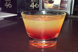 drink up pineapple upside down cake shot at home