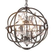 Orb Chandelier Crystal Orb Chandelier Sphere U0026 Globed Shaped Chandeliers