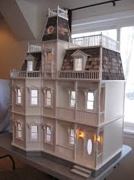 Free Miniature Dollhouse Plans by Little Darlings Dollhouses Customized Newport Dollhouse With