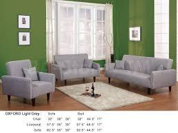 3 Pc Living Room Set 1378 00 Oxford 3 Pc Living Room Set Light Grey Sofa Sets