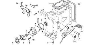 massey ferguson 135 gearbox parts