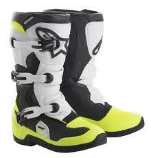 motocross boots alpinestars alpinestars tech 3s kids youth motocross boots black flo yellow