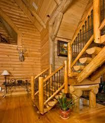 lifeline interior dark honey log home stain cabin ideas