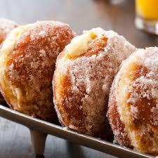 vanilla cream u2013filled doughnuts recipe epicurious com