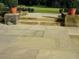 Garden Paving Ideas Uk Patio Ideas Kota Black Limestone Indian