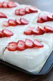 tres leches cake with strawberries recipe summer cakes and cream