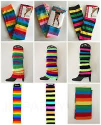 mardi gras leg warmers rainbow leg warmers the knee socks mardi gras
