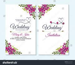 Design Card Wedding Invitation Wedding Invitation Thank You Card Save Stock Vector 469252376