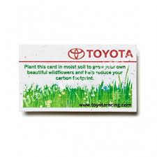 plantable business cards usa made recycled eco promotional