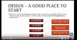 automation framework design and development u2013 sue wild u2013 medium