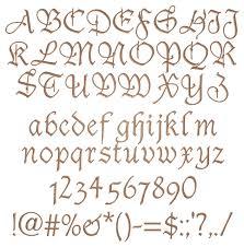tudor script