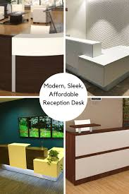 Affordable Reception Desk Modern Sleek Affordable Reception Desk Options Available In L
