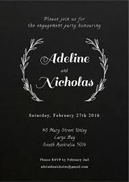 Engagement Invitation Cards Simple Engagement Invitations Engagement Party Invitations