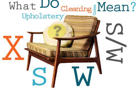 Upholstery Define How To Read Upholstery Cleaning Codes Apartment Therapy