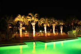 commercial landscape lighting panama city sandestin