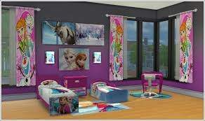Frozen Kids Room by Kids Room Joyce Frozen At Louisa Creations4sims Sims 4 Updates