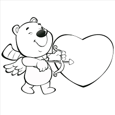 marvelous valentine printable coloring pages pic
