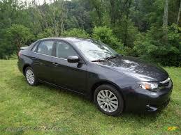 subaru sti 2011 black 2011 subaru impreza 2 5i premium sedan in dark gray metallic