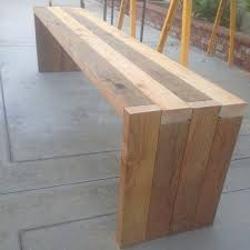 Wooden Bench Seat Plans by Best 25 Diy Bench Ideas On Pinterest Benches Diy Wood Bench