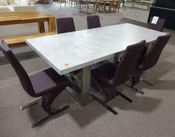 Esszimmertisch Tisch Esstisch Boonton Grau 220 X 100 Cm