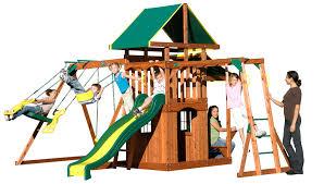 backyard discovery meridian swing set u2014 65009 outdoor furniture