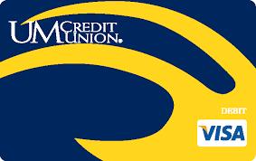 Michigan travelers checks images University of michigan credit union visa check card university jpg