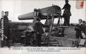 siege canon cartes postales photos siège de 1870 71 joséphine