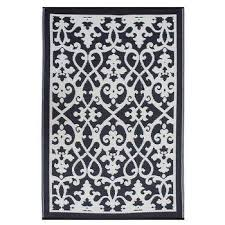 Cream And Black Rugs Black Cream Tassels Rug Products Bookmarks Design Inspiration