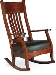 Wood Rocking Chair Amish Furniture Hand Crafted Solid Wood Rocking Chairs Amish