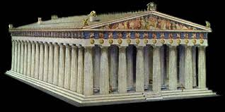 Parthenon Interior Heretic Rebel A Thing To Flout Exploding Antiquity U2014the