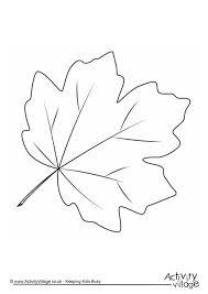 autumn leaf colouring 3 coloring autumn leaf