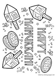 hanukkah coloring pages coloring