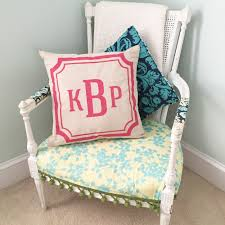 kids monogrammed 18 u2033 x 18 u2033 canvas pillow cover workshop u2013 ar
