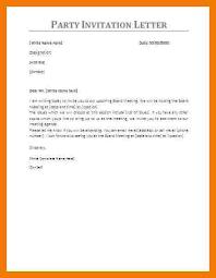 birthday invitation letter sample hitecauto us