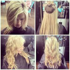 Boheme Hair Extensions by Beaded Row Wefts Natural Beaded Rows Hair Extensions Pinterest