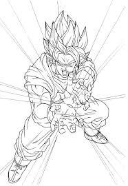 100 best goku coloring pages on cattpix com