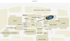 utc mall map cxi san diego s currency exchange westfield mission valley