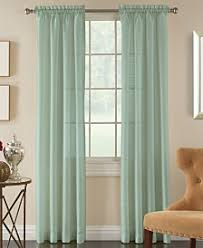 Green Sheer Curtains Sheers Curtains And Window Treatments Macy S