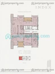 Nia Floor Plan Index Tower Floor Plans Justproperty Com