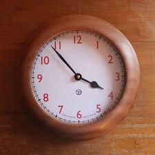 wood turned wall trestle shop turned wall clock