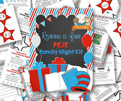 reading is family literacy kit pre k pages