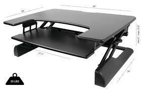 desk riser deskriser standing desk u2013 height adjustable sit