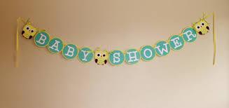 baby shower banner baby shower banner owl theme 23 00 via etsy jones baby