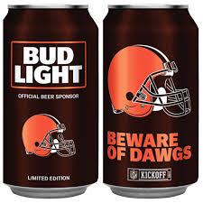 order nfl bud light cans bud light nfl cans return for 2017 season cleveland com
