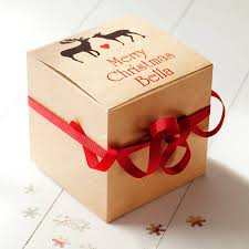 image gallery of christmas gift box ideas