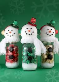 make your own snowman candy jars with reese u0027s miniatures u2013 a