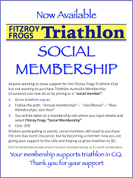 one day event insurance about membership fitzroy frogs triathlon club