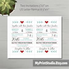 invitation template printable wedding invite rsvp cards
